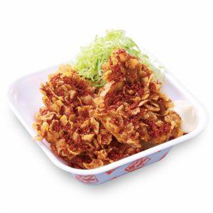 コーンフレークカツ丼弁当